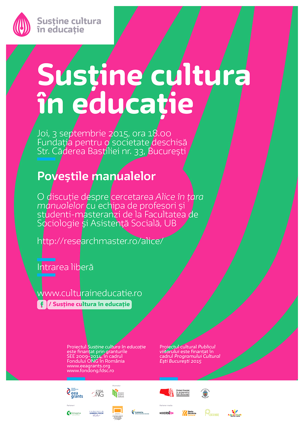 Întâlnirile Cultura în educaţie: Poveştile manualelor