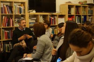 Întâlnire Cultura în educaţie_Edutainment - despre cum arta poate revoluţiona educaţia_Invitat Irina Damian_21 ianuarie 2016_Fundaţia pentru o societate deschisă