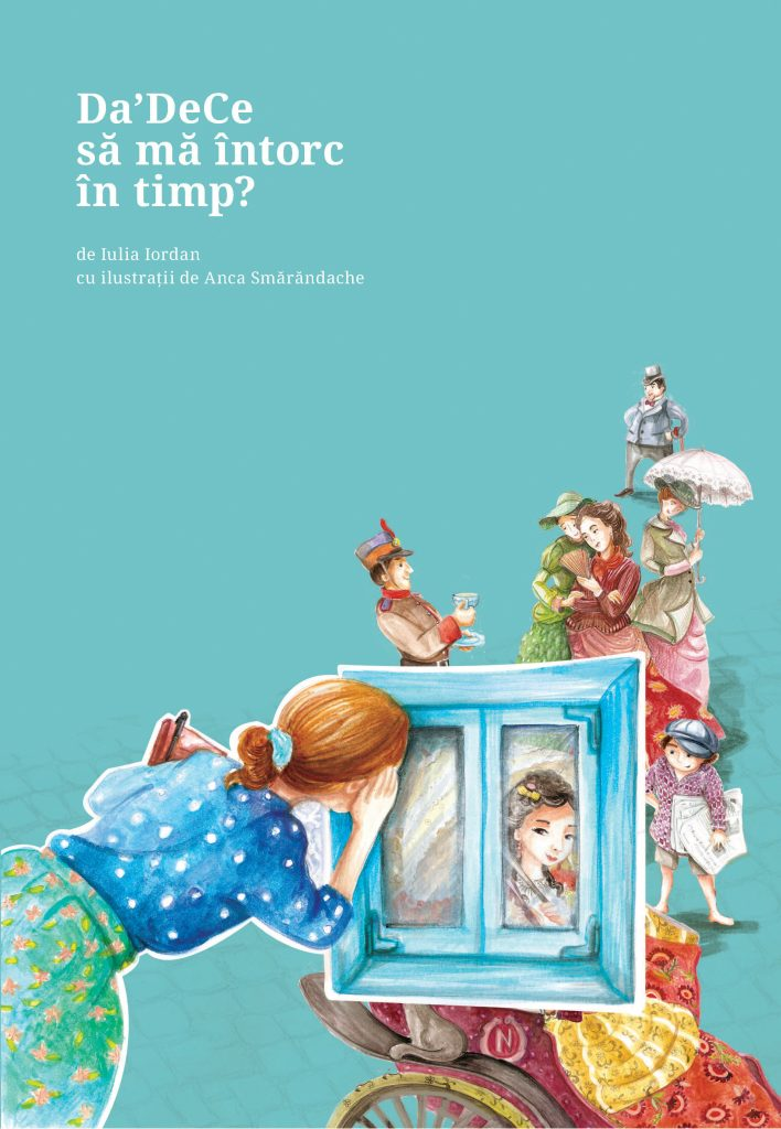 """""""Da'DeCe să mă întorc în timp"""" – cumpărați cartea în luna martie și primiți câteva cadouri"""