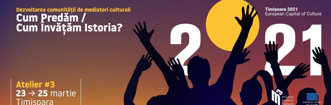 Apel Public – Atelierul de formare #3: ISTORIA LA TIMPUL PREZENT // Cum predăm, cum învățăm istoria?