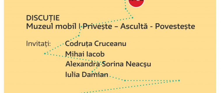 Întâlnire Cultura în educație – Muzeul mobil. Privește – Ascultă – Povestește| 14.11.2017 | 18.00 | Muzeul Național de Artă al României